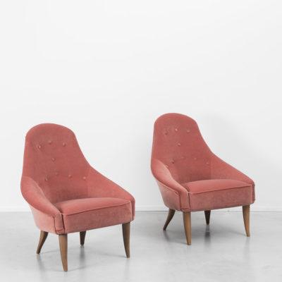 D028 Kerstin Holmquist Lilla Eva armchairs