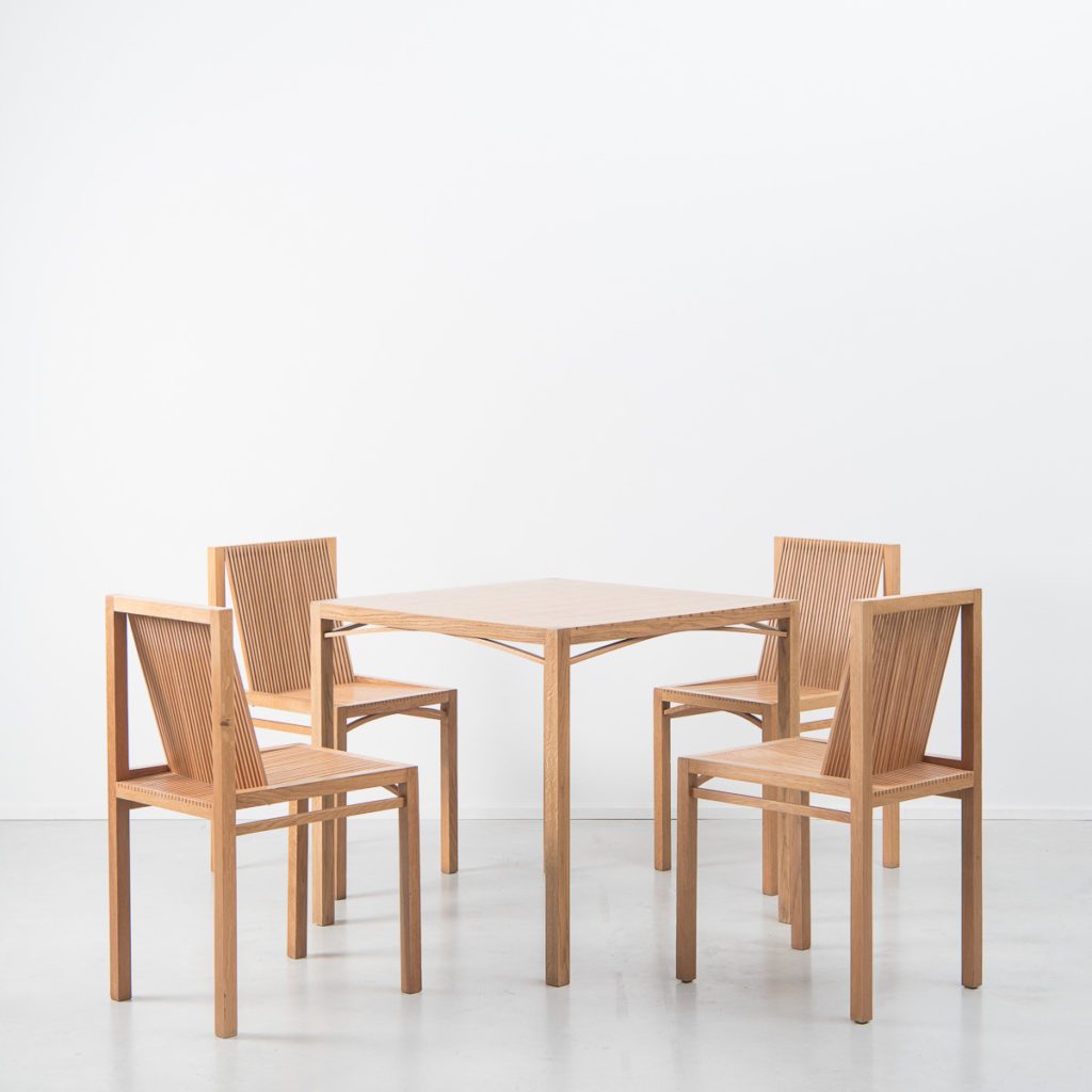 Ruud Jan Kokke Latjes dining set