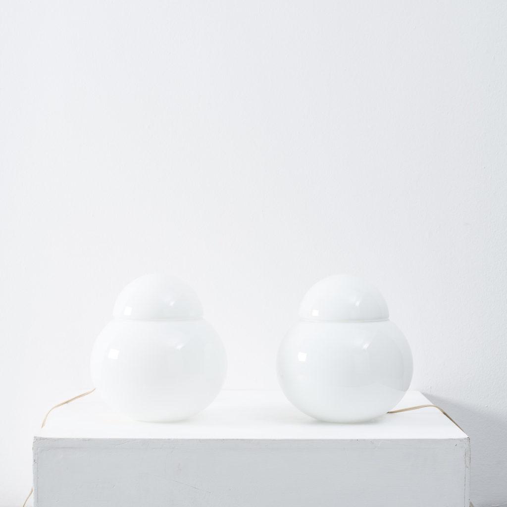 Sergio Asti Daruma table lamps