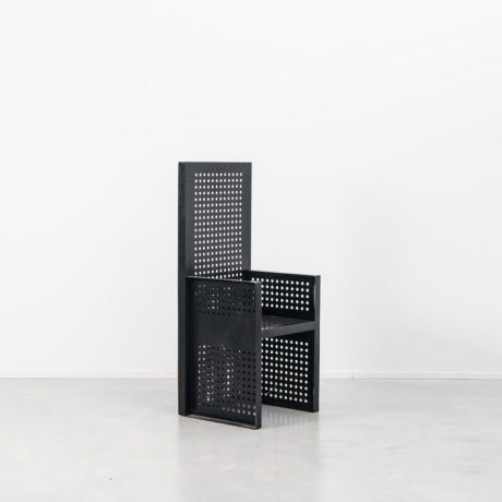 Urano Palma perforated metal chair