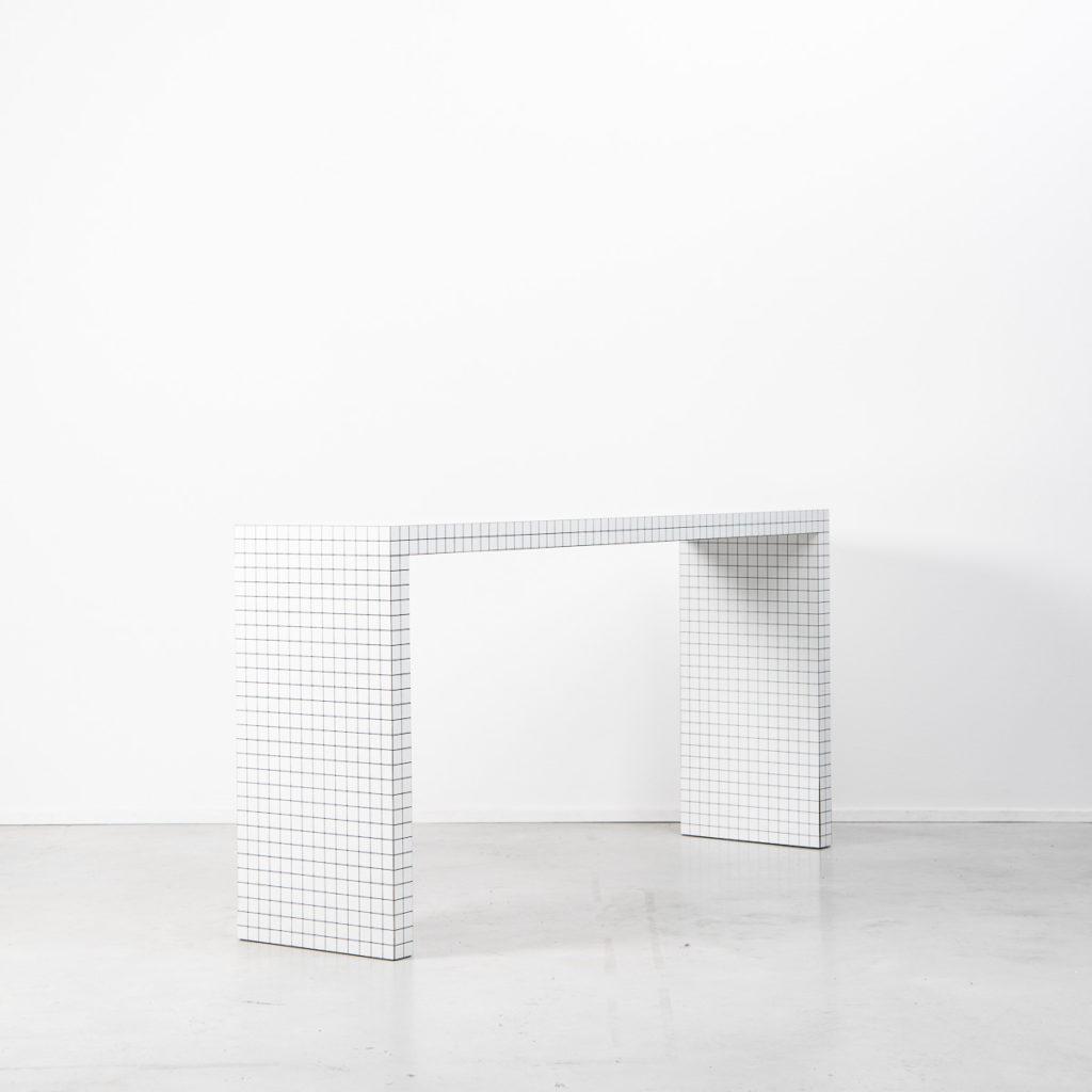 Superstudio Quaderna console table