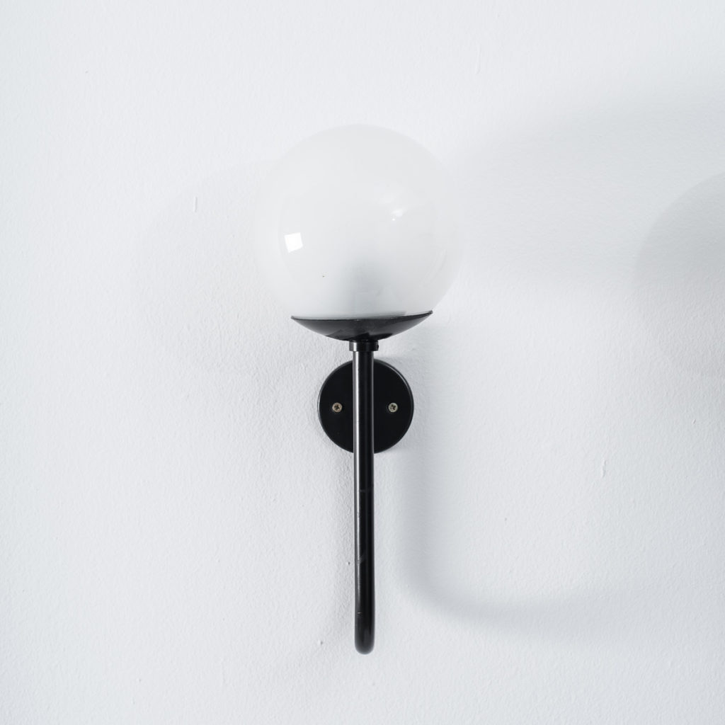Pair Sergio Asti wall lamps