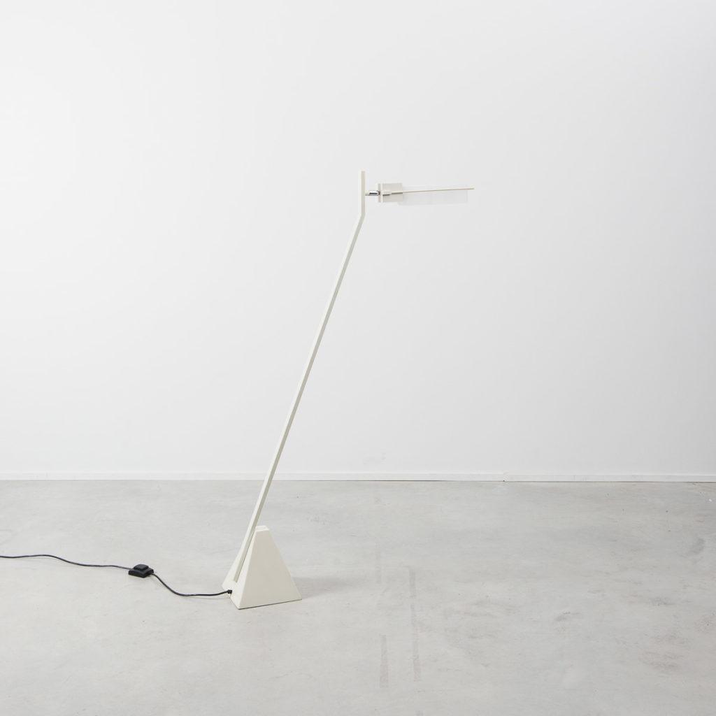 Post Modern fluorescent floor lamp
