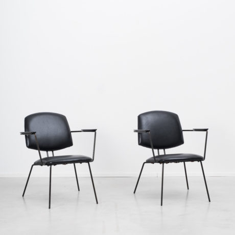 Pair of Rudolf Wolf easy chairs