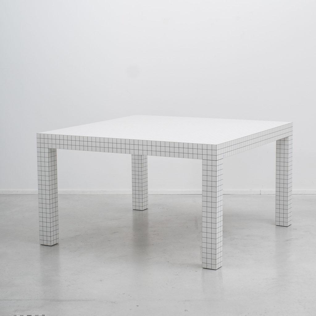Superstudio Quaderna dining table