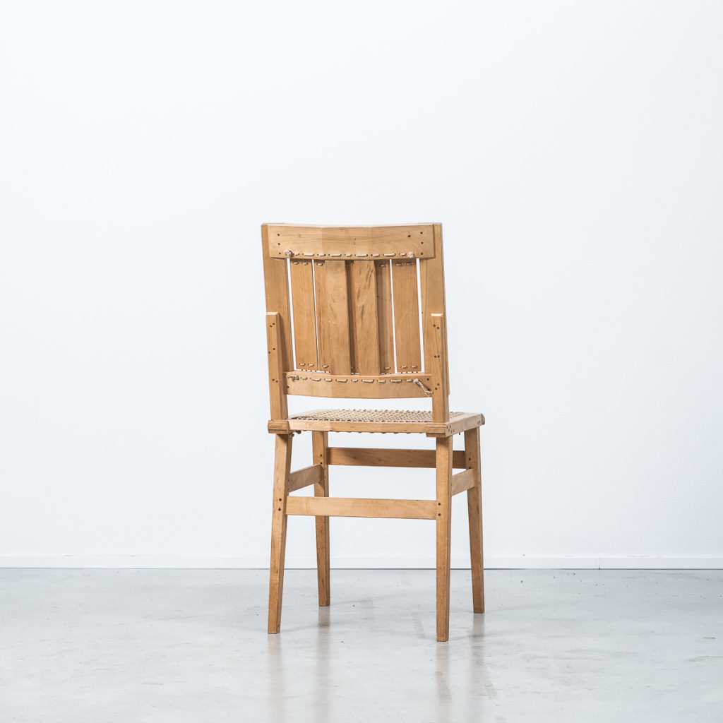 Thomas Tempte chair and stool