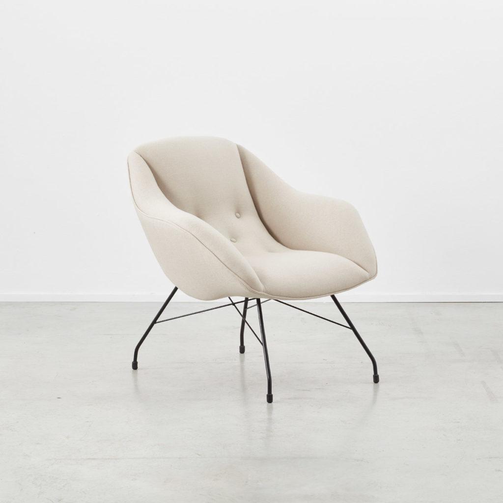 Carlo Hauner Martin Eisler Shell chair