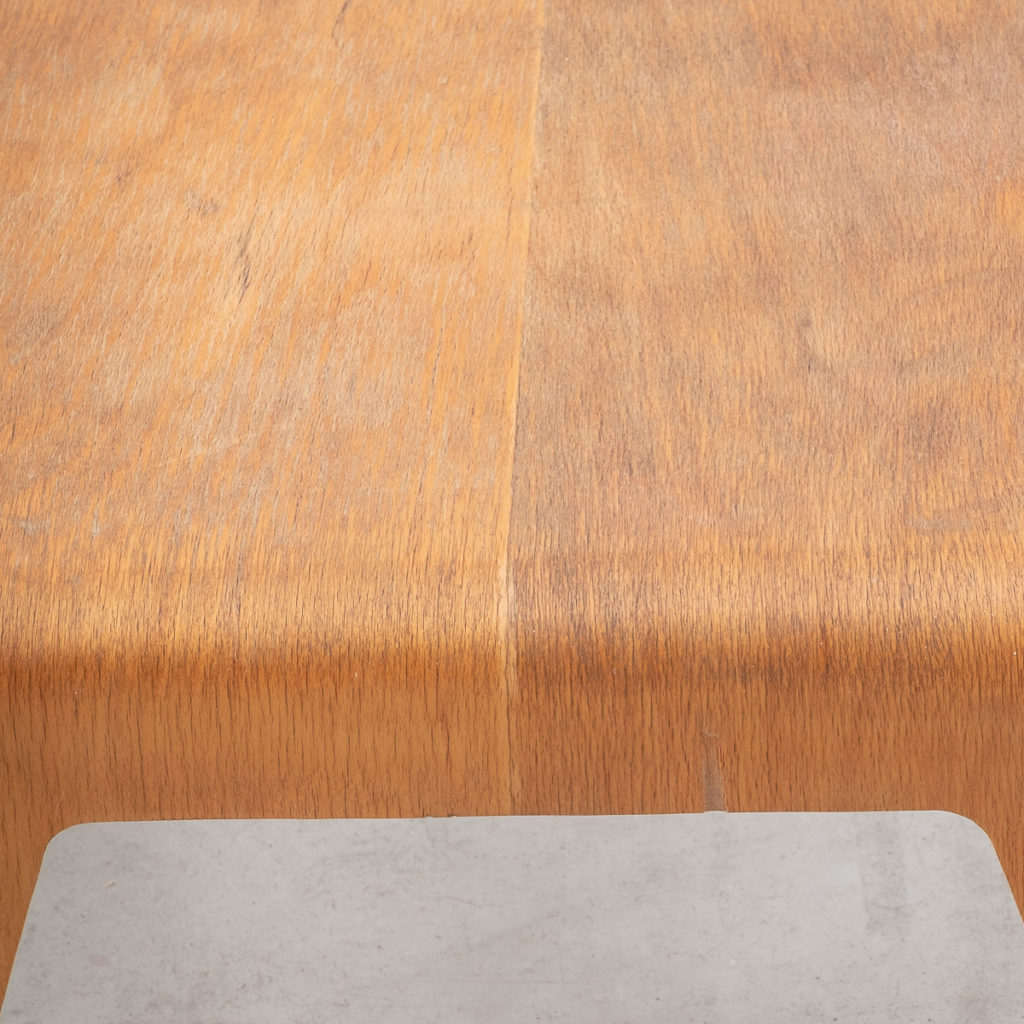 Marcel Breuer bent plywood table