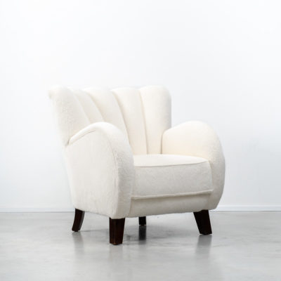 chair, armchair, lounge chair, famous designer chair, iconic chair, designer chair, 1930s, Danish armchair, wool armchair, white wool, white chair, white armchair, alpaca, alpaca wool, Slagelse Møbelværk, Flemming Lassen, Beton Brut, Beton Brut London, Beton Brut furniture, Beton Brut lighting, vintage furniture Hackney, vintage furniture east London, vintage furniture Hackney Wick, vintage furniture shop London, vintage furniture shop Hackney, mid-century furniture shop London, midcentury furniture shop Hackney, midcentury furniture east London, midcentury modern furniture London, modernist furniture London, modernist gallery London, postmodern furniture London, postmodern furniture gallery, vintage gallery London, vintage lighting shop London, vintage lighting gallery London, modernist lighting London, midcentury furniture Hackney, modernist furniture Hackney, east London design quarter, design east London, London prop hire, prop hire London, Hackney prop hire, prop hire Hackney Wick, furniture prop hire, furniture hire London, furniture rental London, lighting rental London, furniture rental Hackney, lighting rental Hackney, midcentury furniture hire london, 20th century furniture hire London, twentieth century furniture hire London, lighting hire London, lighting hire hackney, vintage lighting hire, photographic studio London, photography studio London, location hire London, location hire Hackney, location hire Hackney Wick, London location for stills shoots, London location for filming, London location for commercials, gallery space east London, gallery space for hire east London.
