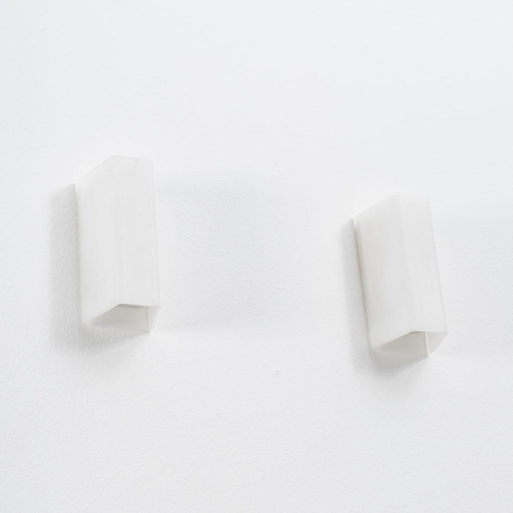 H Guzzini acrylic wall lamps