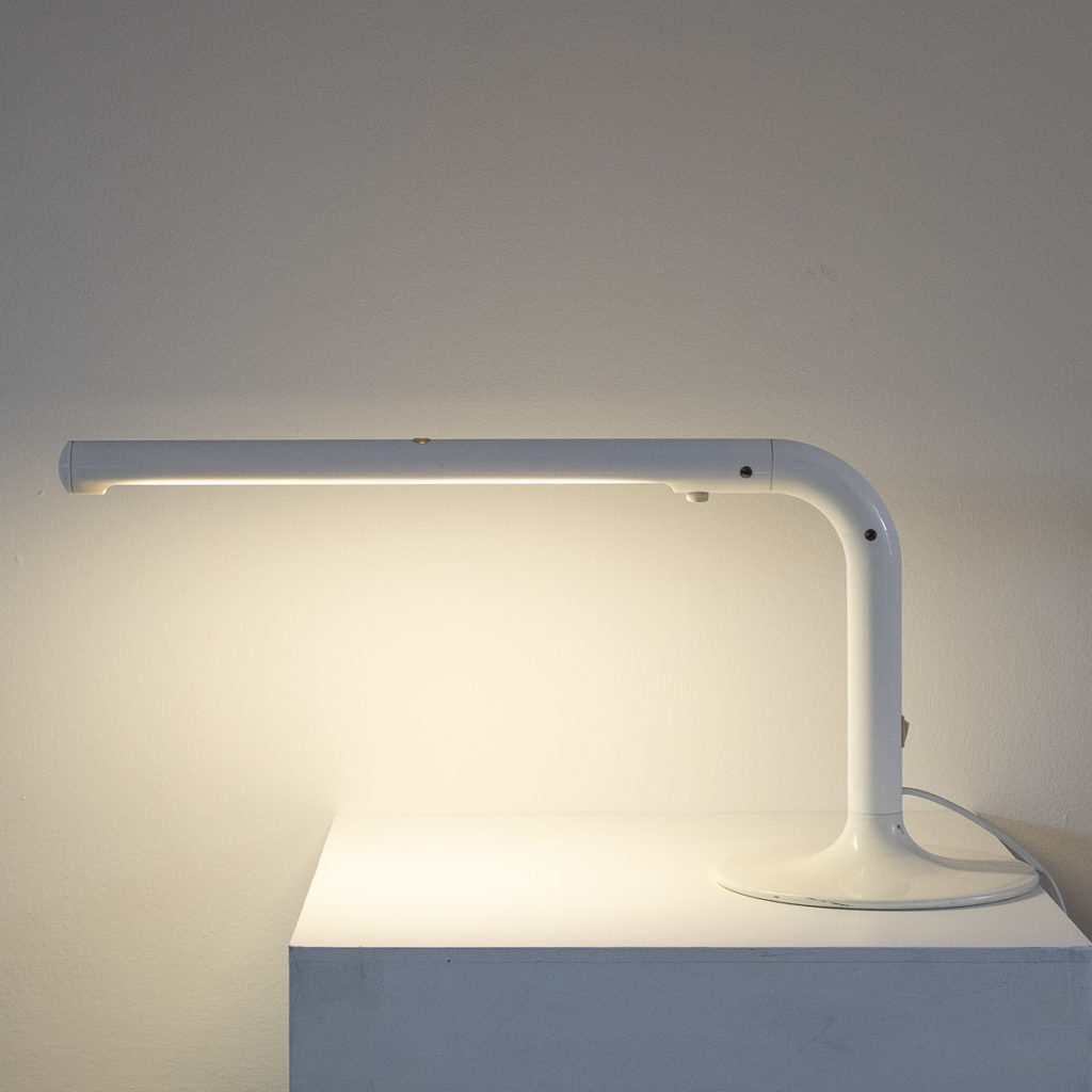 Anders Pehrson white Tuben lamp