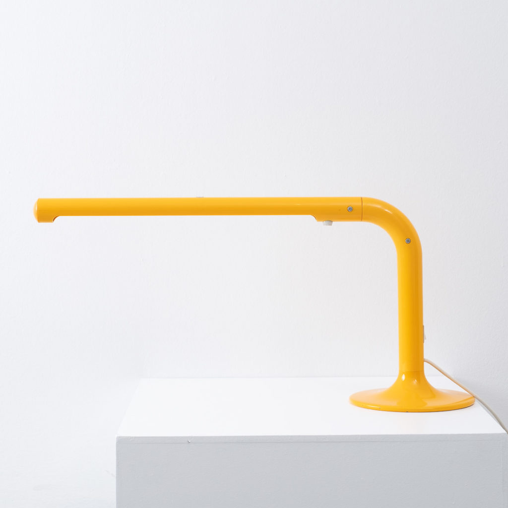 Anders Pehrson yellow Tuben lamp