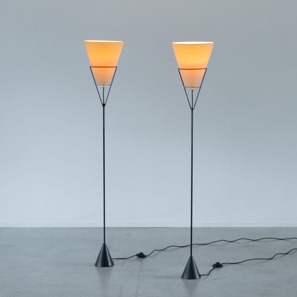 Carl Aubock Vice Versa floor lamps
