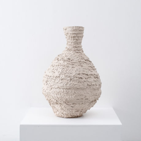 Large ceramic vessel by Su Rogers