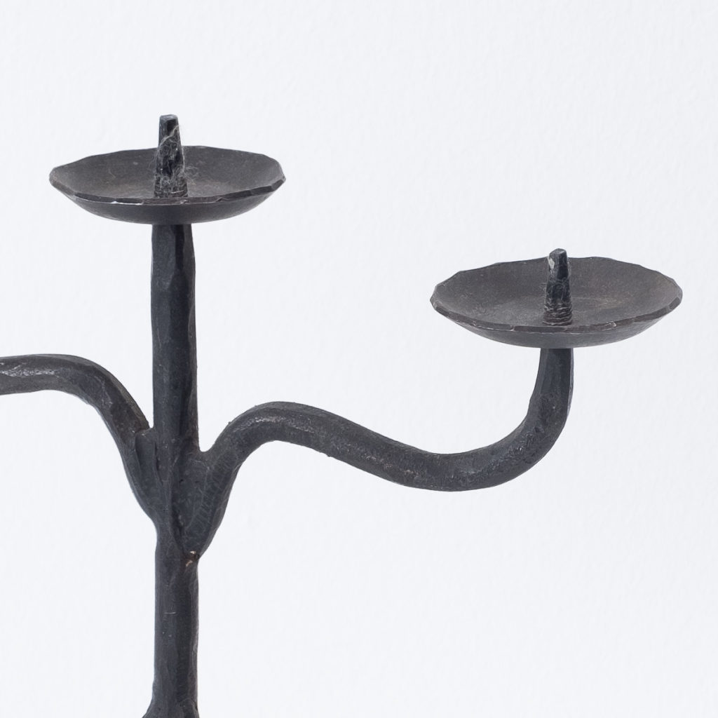 Brutalist French candlestick