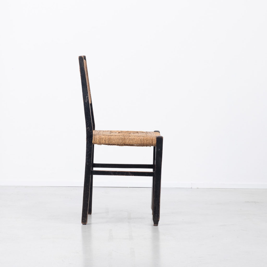 Francis Jourdain rope cord chair