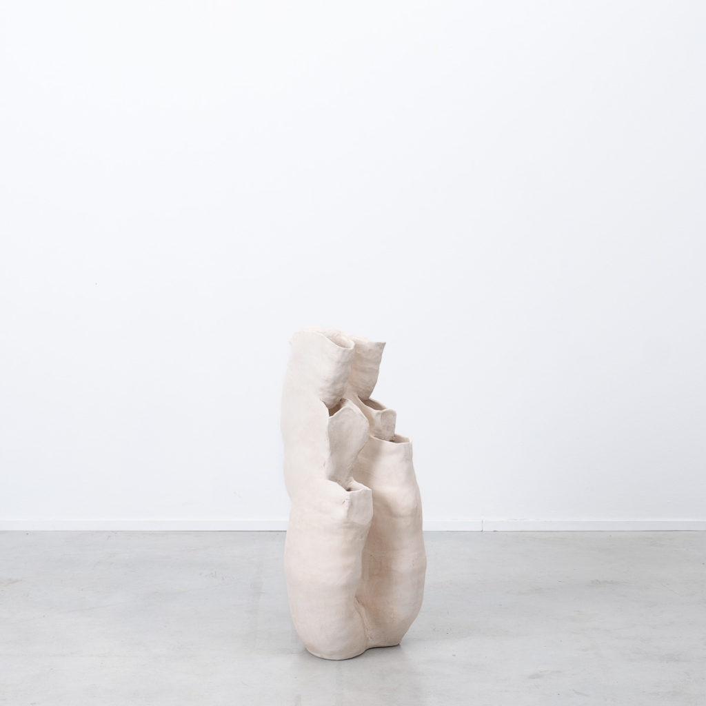 Large studio pottery vase