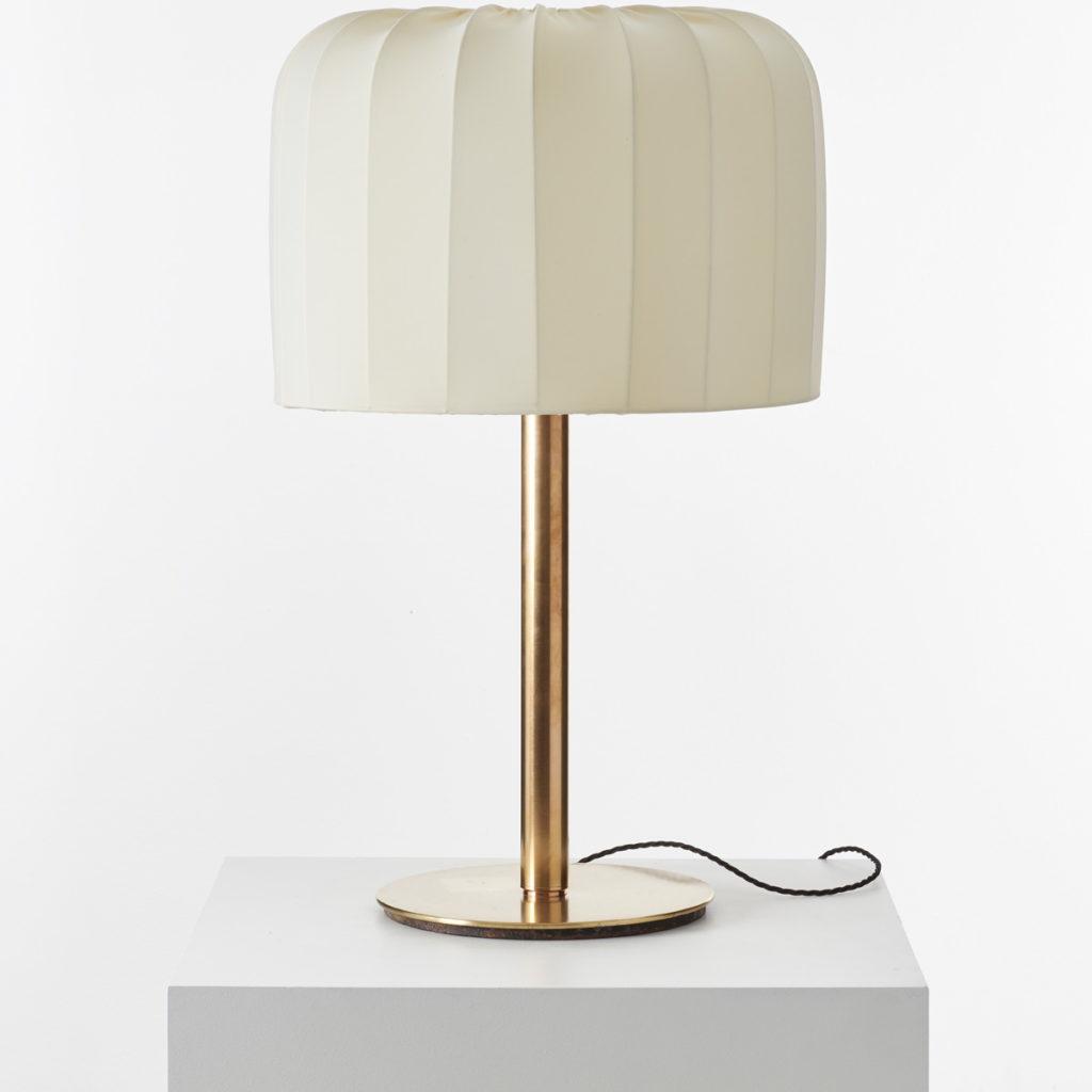 Brass lamp attr Josef Frank