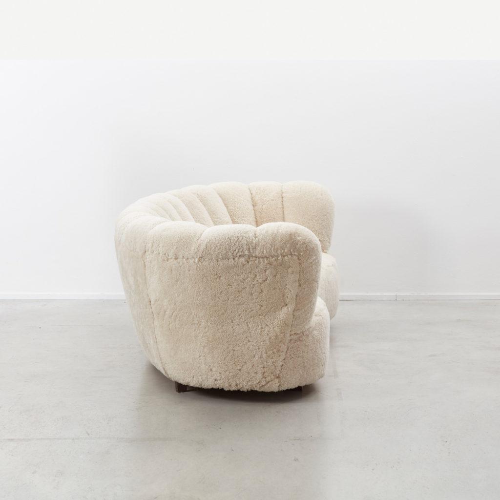 Danish cabinetmaker banana sofa
