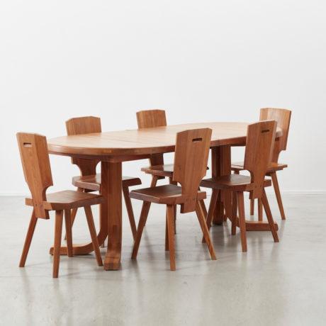 Pierre Chapo dining set