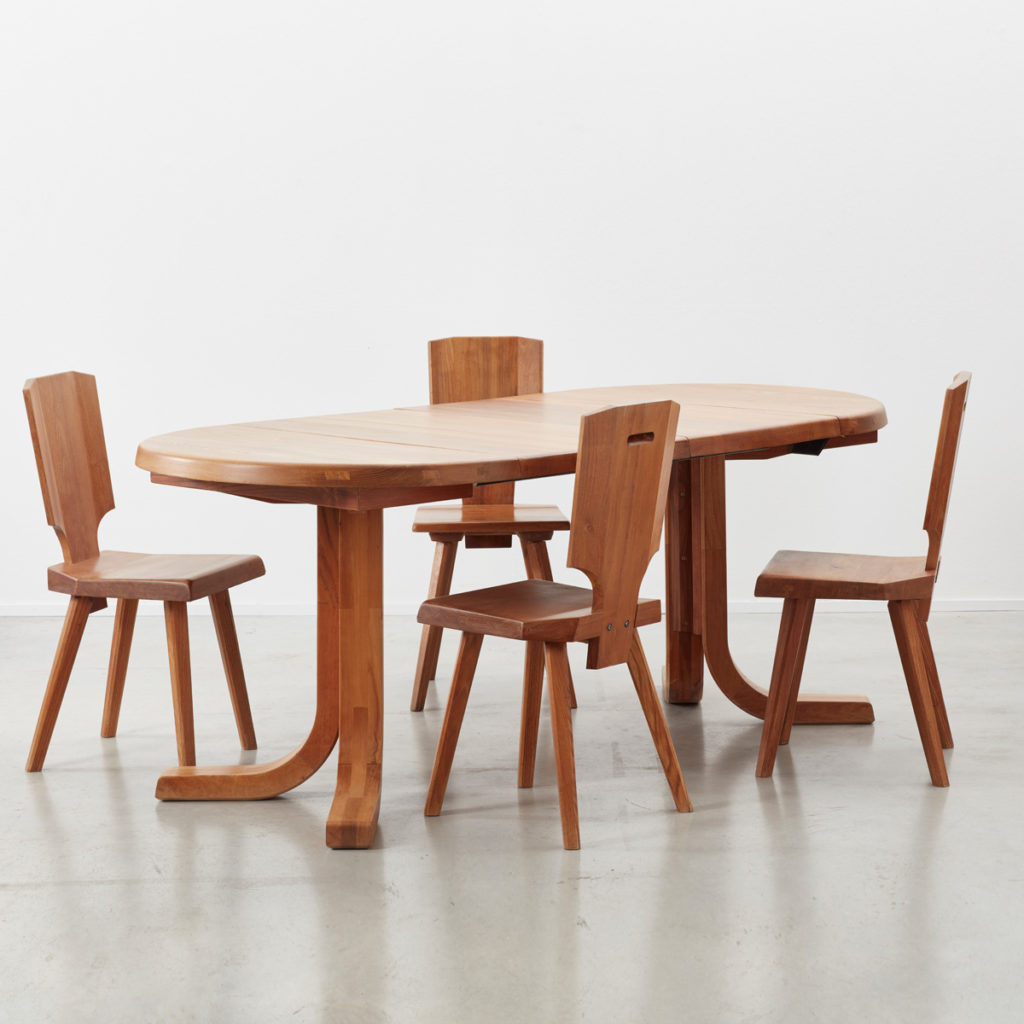 Pierre Chapo dining set