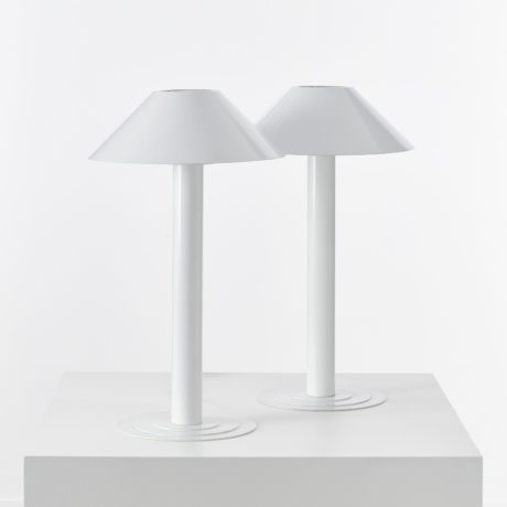Pair Bent Karlby lamps