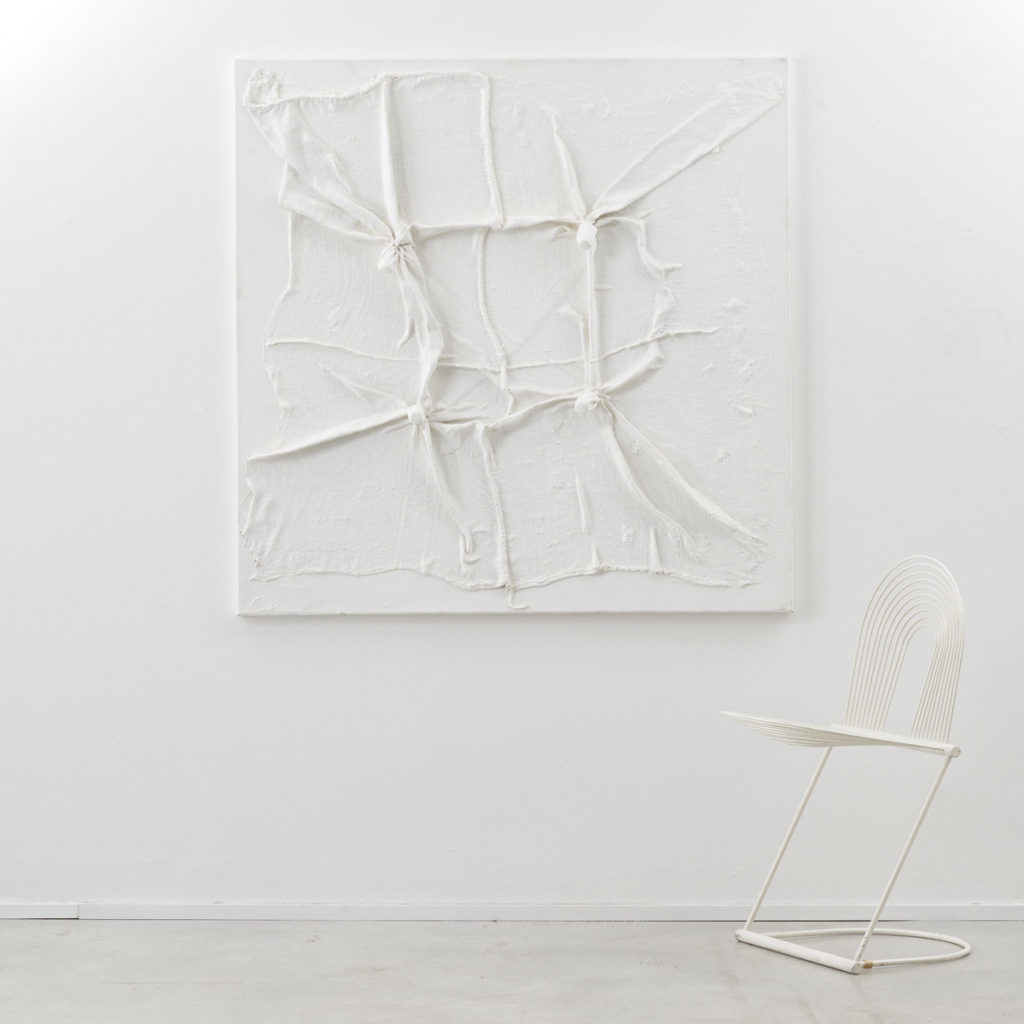 Christian Rosival white sculpture painting