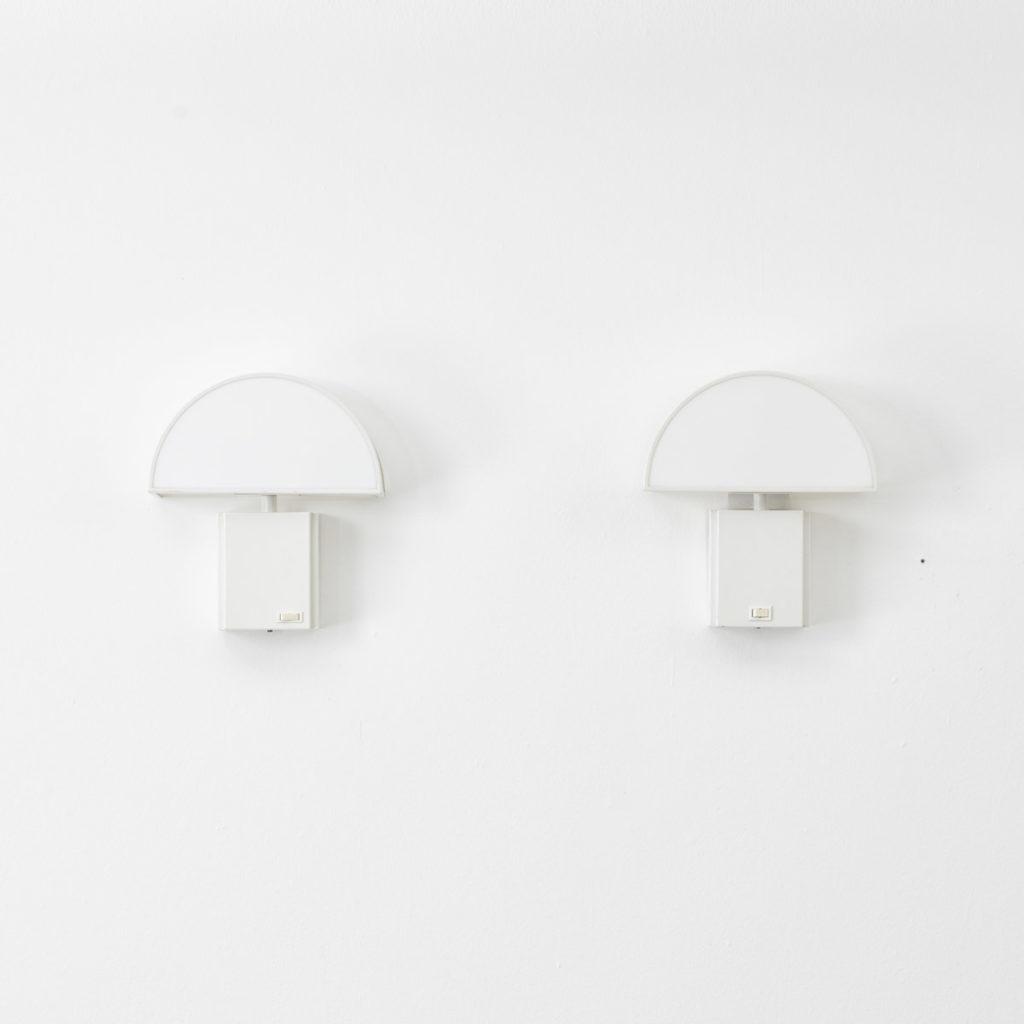 Harvey Guzzini Olympe wall lamps, pair