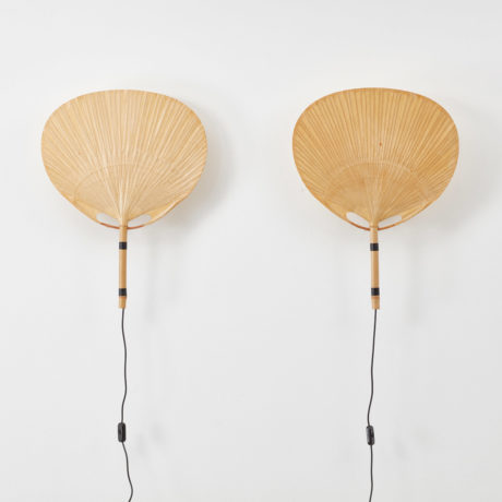 Ingo Maurer Uchiwa III wall lamps