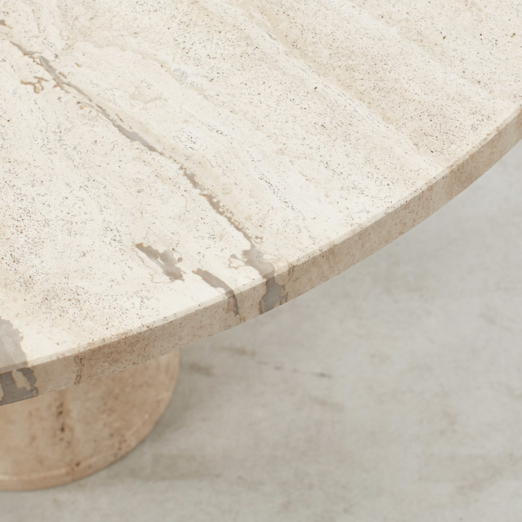 Up&Up travertine dining table