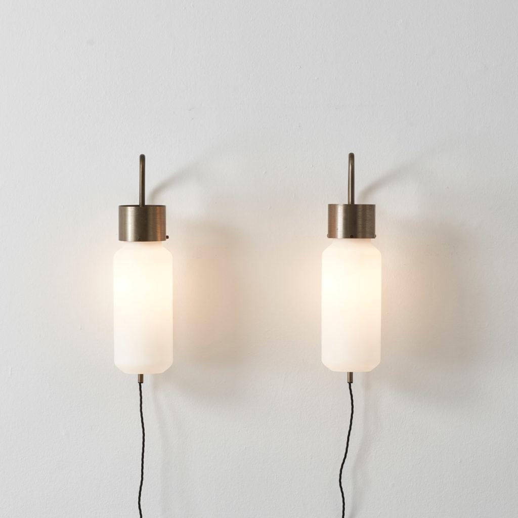 Luigi Caccia Dominioni Bidone lights