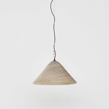 Murano swirl glass pendant