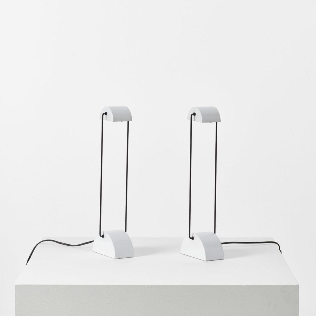 Pair of Laser model 1050 lamps