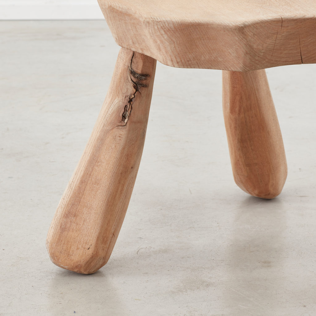 Provincial wooden stool/table