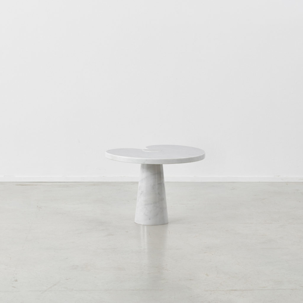 Angelo Mangiarotti Eros side tables