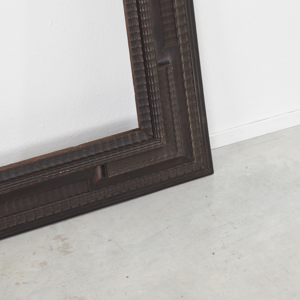 Large C18th Dutch ripple frame