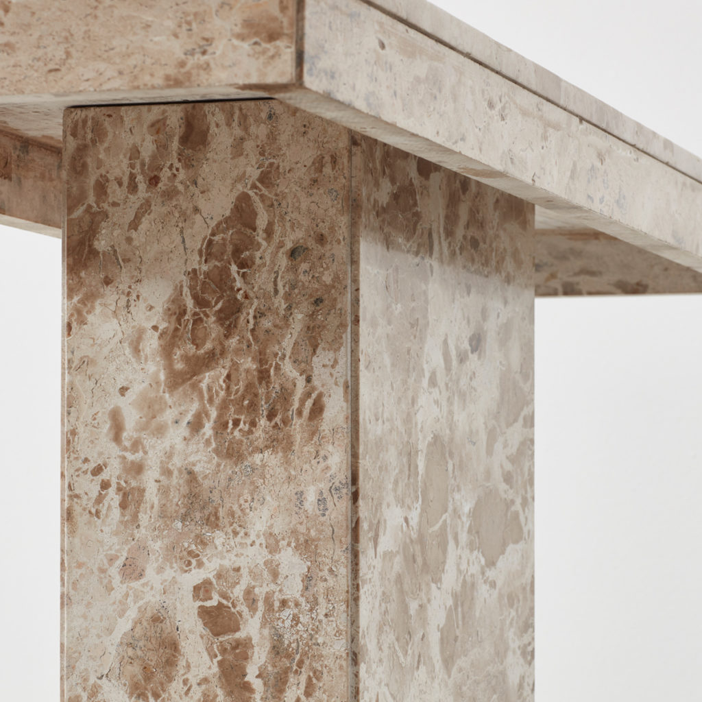 Aleppo stone console table
