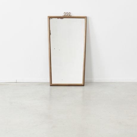 Luigi Brusotti brass mirror