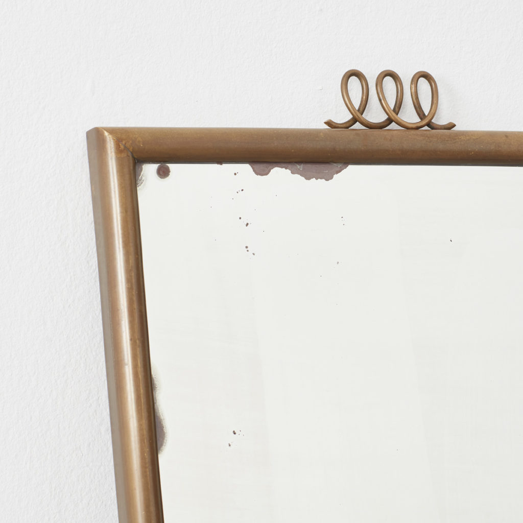 Luigi Brusotti brass mirror