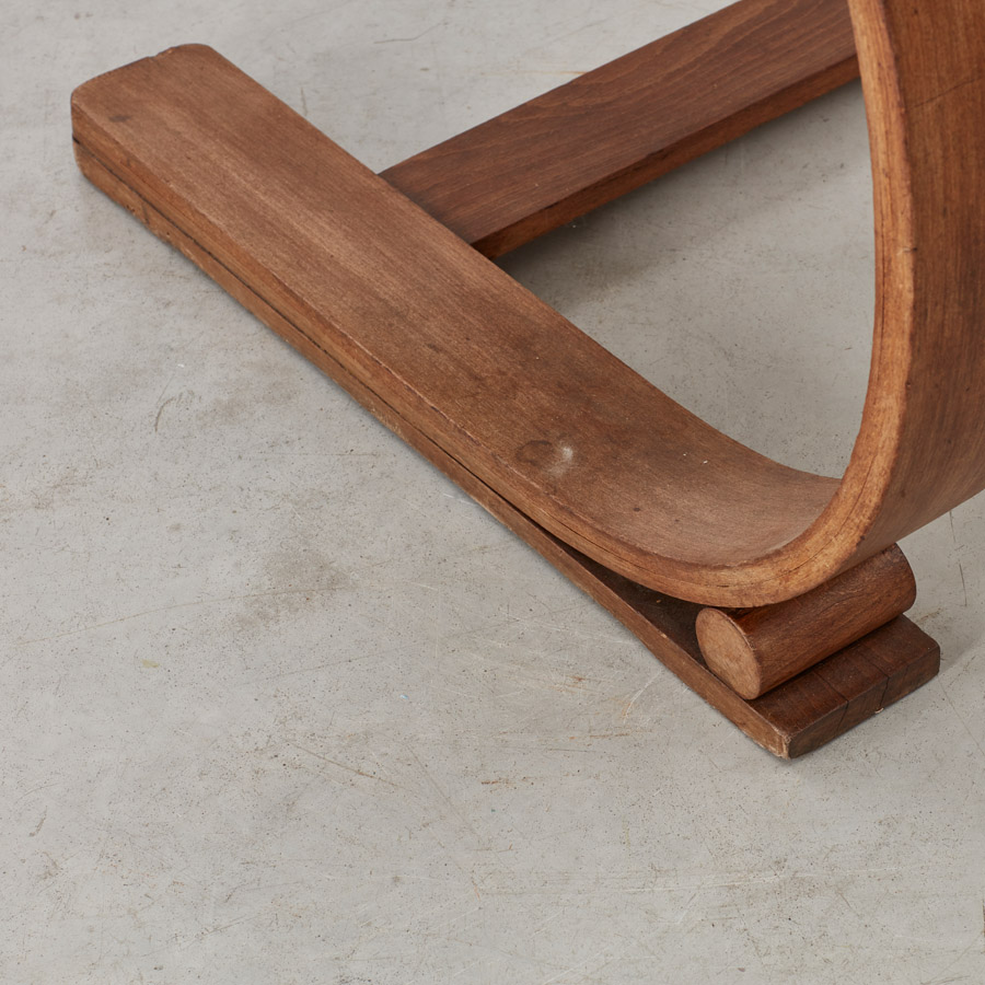 Audoux and Minet rope chair