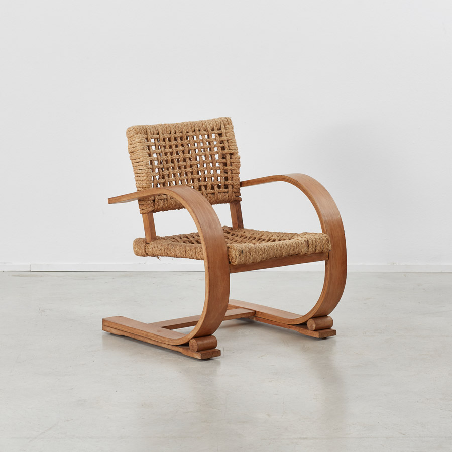 Audoux and Minet rope chairs
