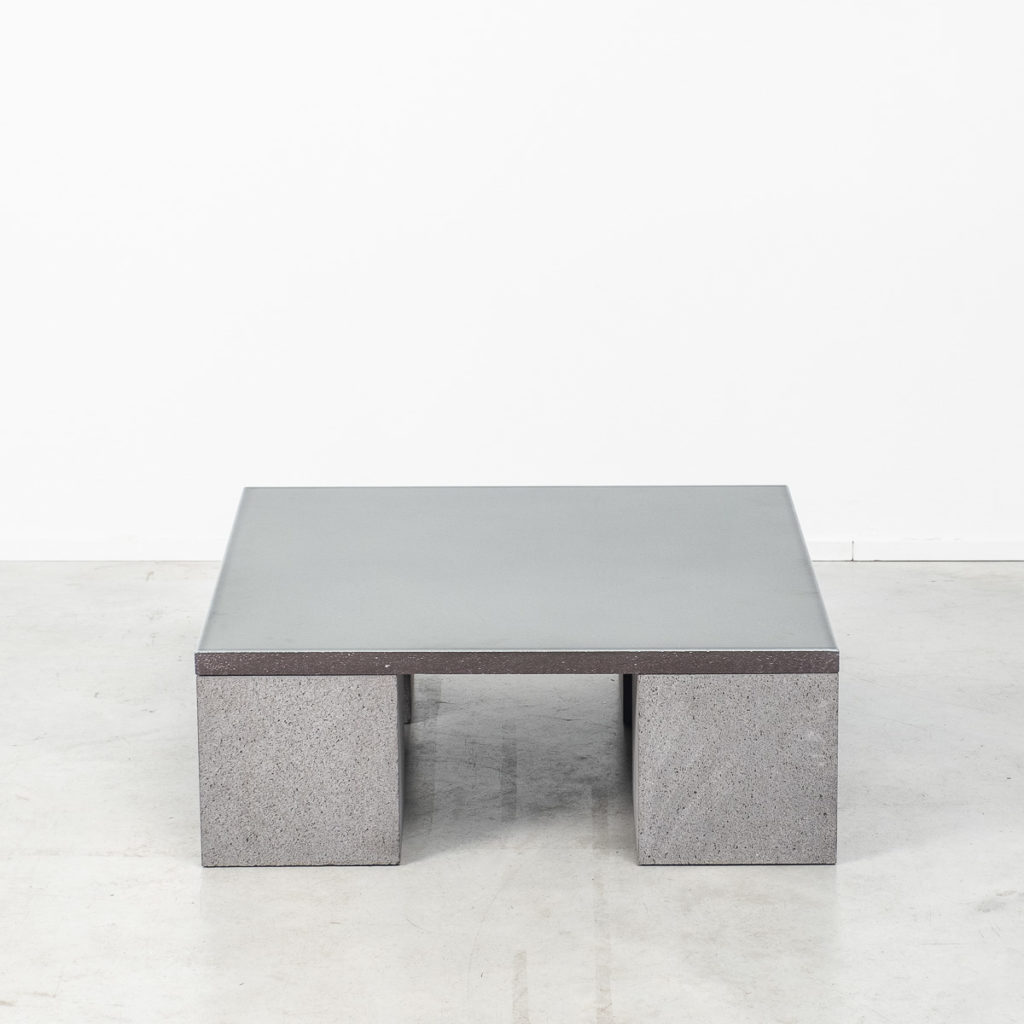 Lava stone Sculptor's coffee table