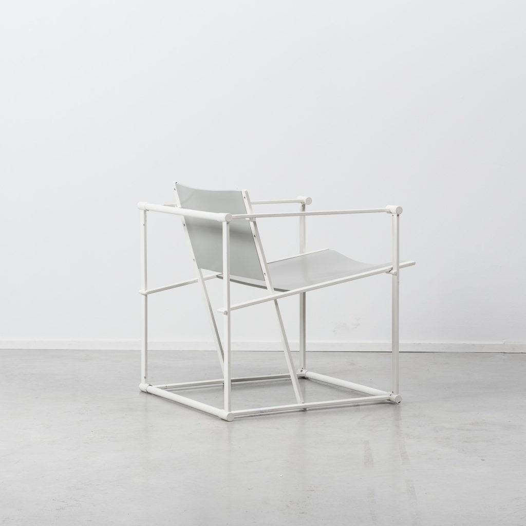Radboud Van Beekum FM60 Two Tone Cube Chair