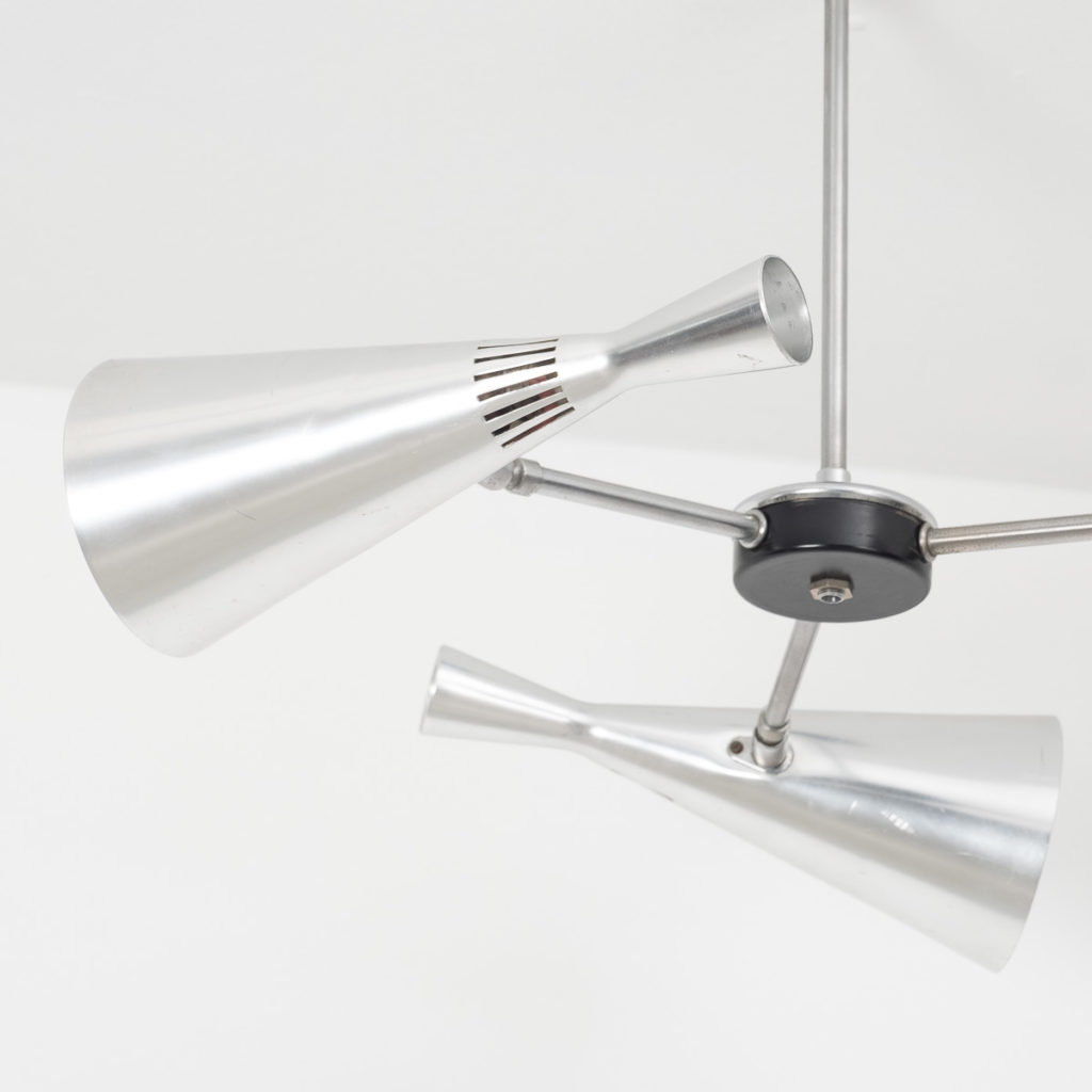 Directional ceiling lamp designed by GA Scott