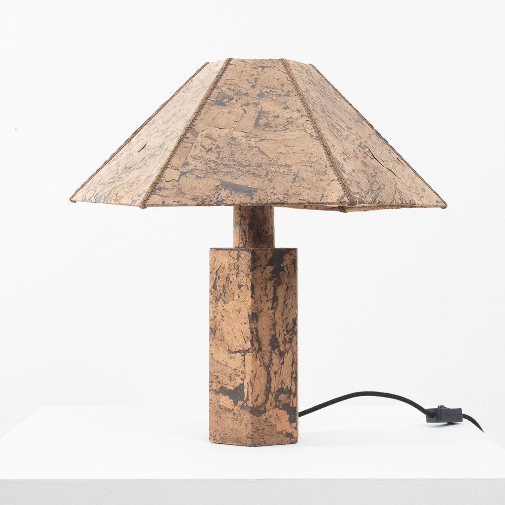 Ingo Maurer style cork lamp