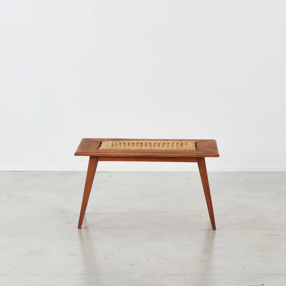 Audoux Minet rope coffee table