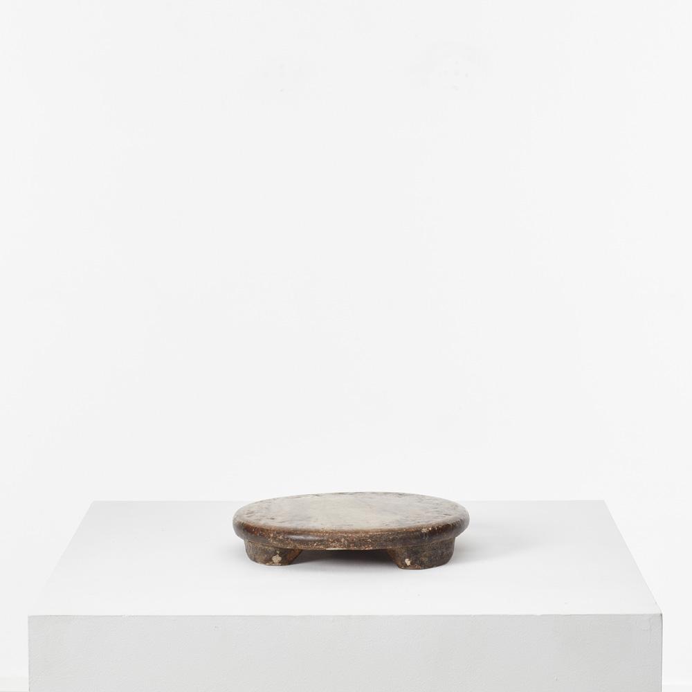 Round marble roti board