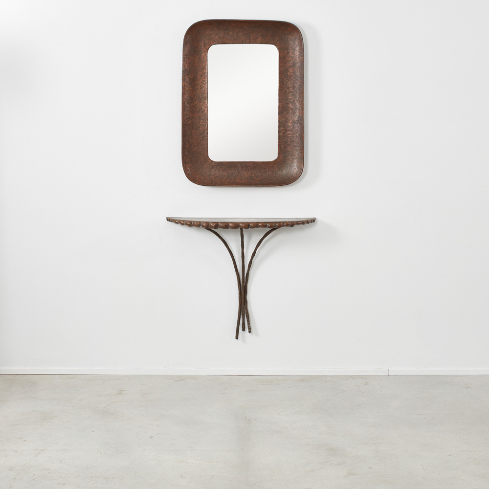 Angelo Bragalini mirror and console