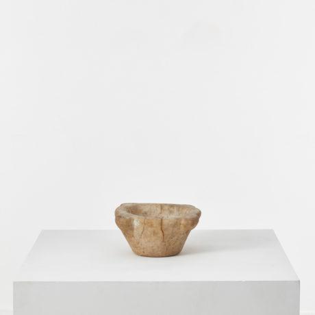 Ancient marble mortar