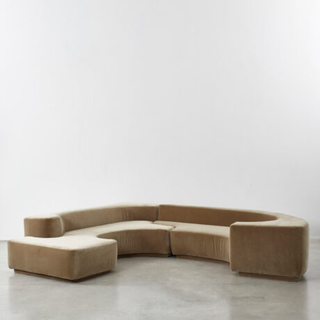 Pamio, Toso & Massari Lara sofa
